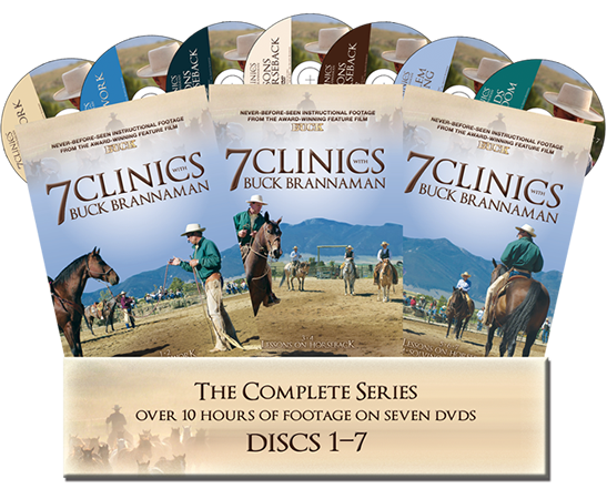 7 Clinics with Buck Brannaman - The Complete Set